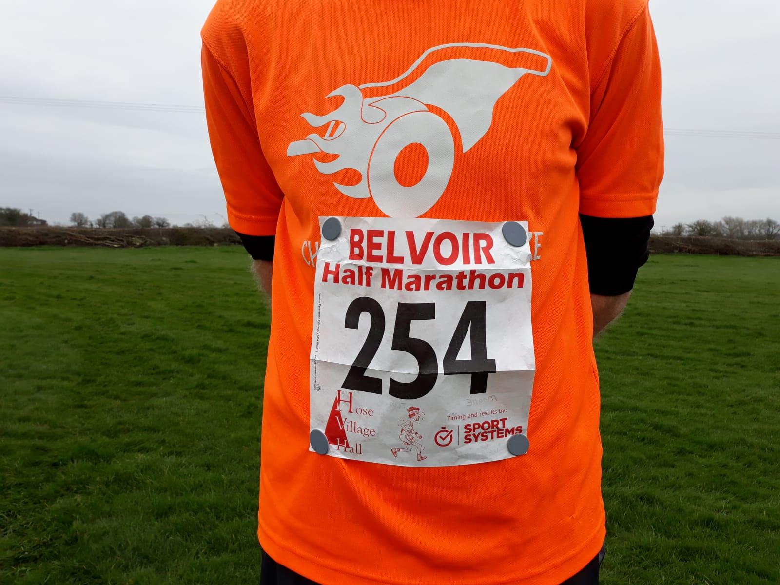 Belvoir Half Marathon 2018 – a flashback