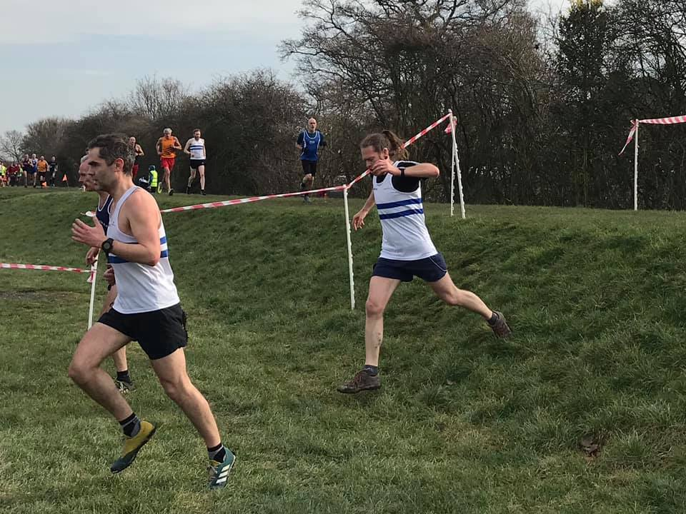 Beeston Runner in action at the long eaton XC race 2019