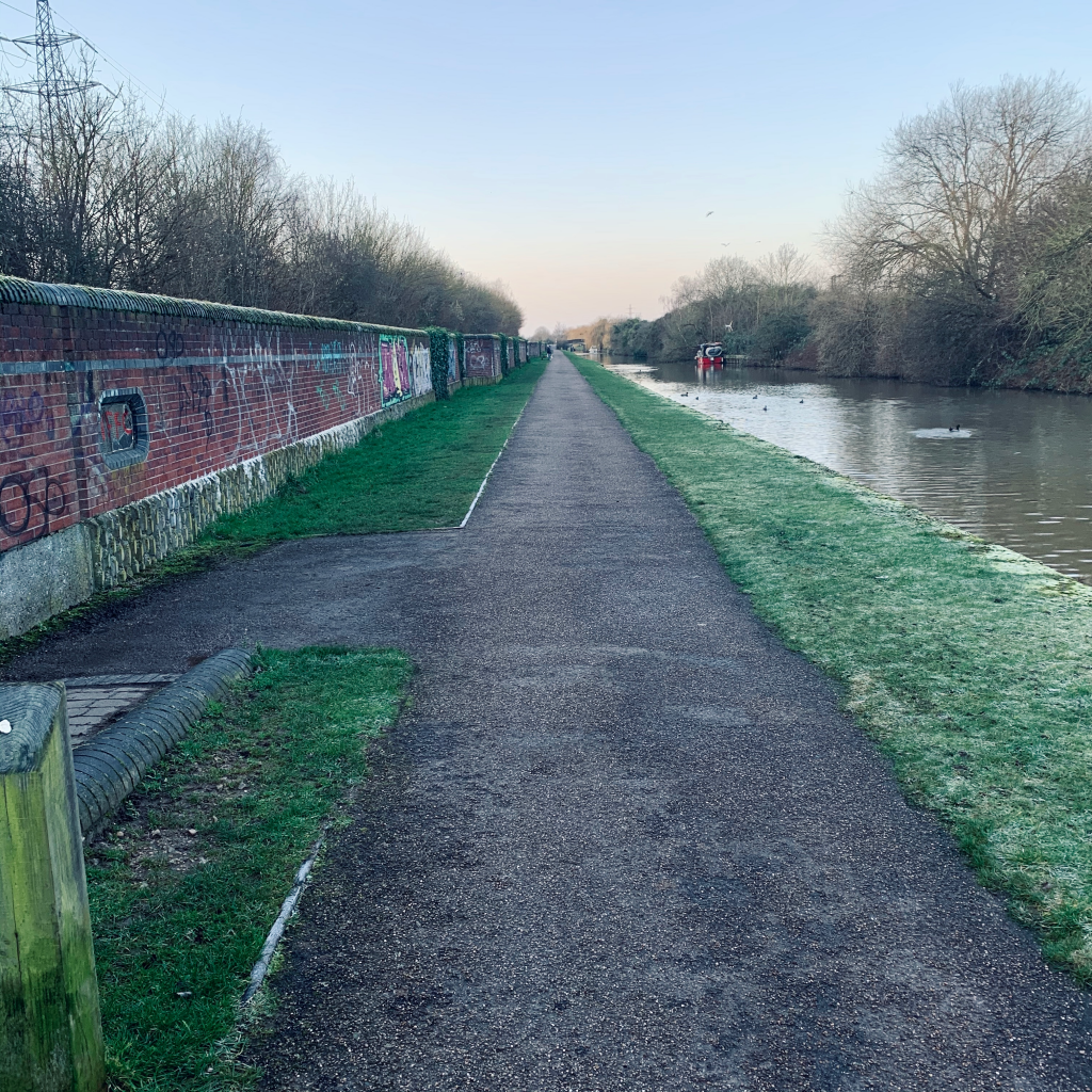 Beeston Runner, Beeston canal winter run