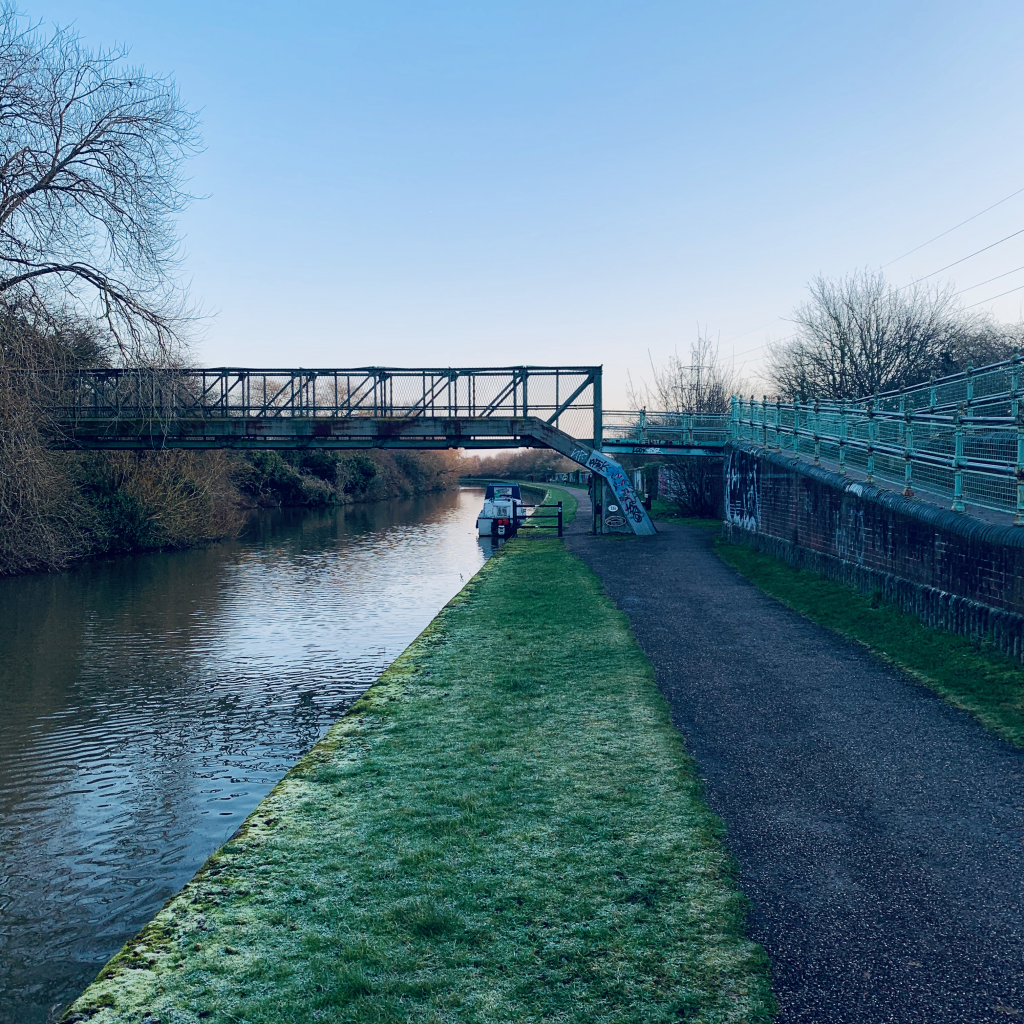 Beeston Runner, Beeston canal wintery run